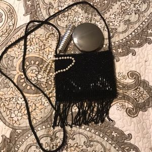 Beaded evening bag. No missing beads